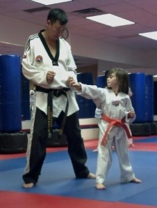Miciah tae kwon do