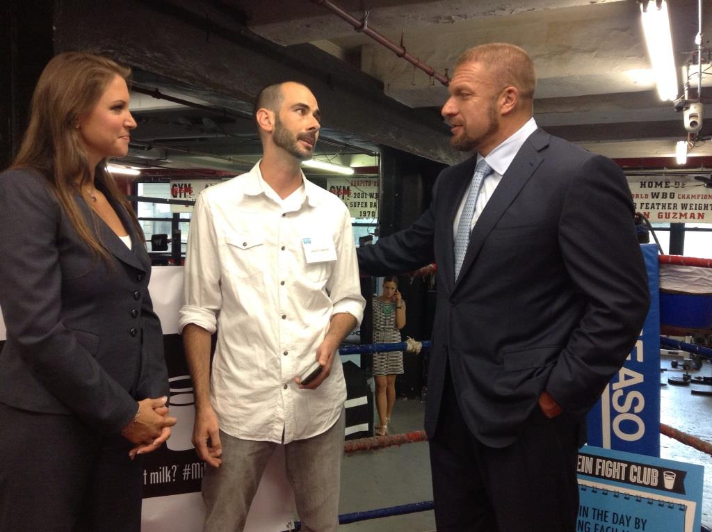 Talking Parenthood with Triple H and Stephanie McMahon ...