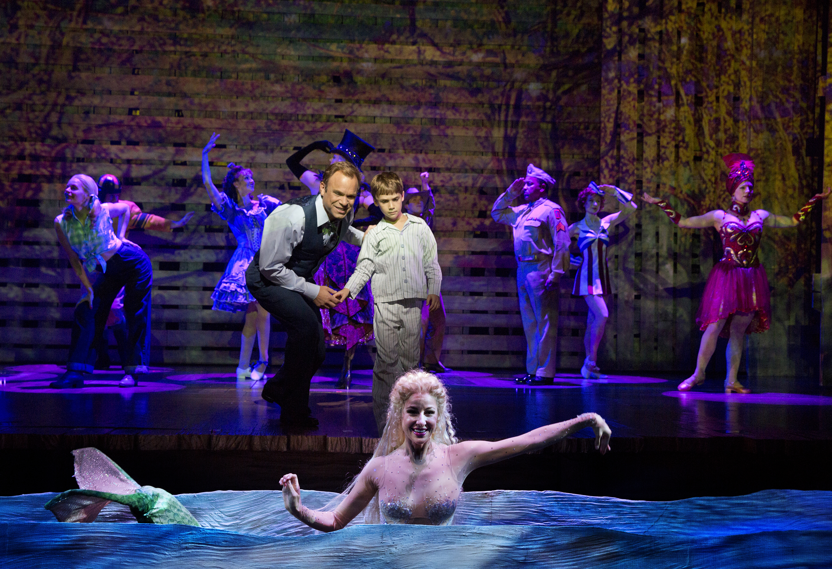 big fish the musical broadway review one good dad