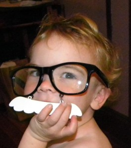 Toddler Milk Mustache