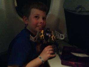 Transformer on plane