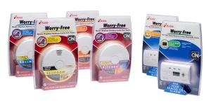 worry free smoke alarms