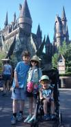 In front of Hogwarts
