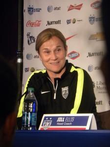 Coach Jill Ellis