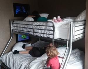 Niagara Trip - 2 Hotel bunk beds