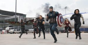 Captain America Team